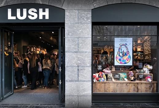 Inauguración Lush Bilbao