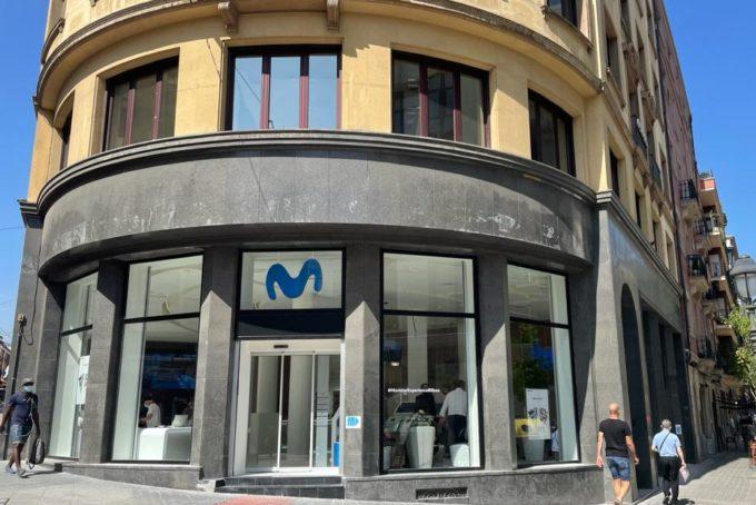 Nueva tienda Movistar en Bilbao